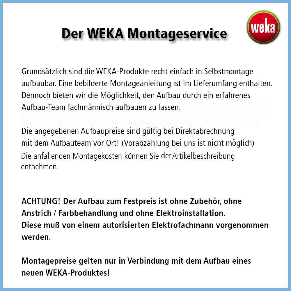 Der WEKA Monategeservice