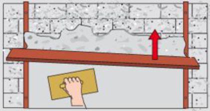 ratgeber zum richtigen mauern verputzen. Black Bedroom Furniture Sets. Home Design Ideas
