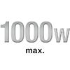 max. 1000 Watt