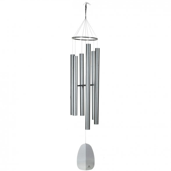 Woodstock Chimes Klangspiel | Kollektion: Windsinger Chimes | Chimes of King David - Silber | 223,5cm Lang