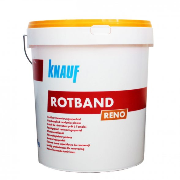 knauf renovierspachtel rotband reno 20kg eimer. Black Bedroom Furniture Sets. Home Design Ideas