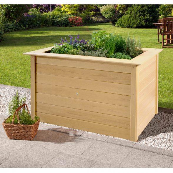 profi hochbeet 669 von weka f r kleine g rten terrassen. Black Bedroom Furniture Sets. Home Design Ideas