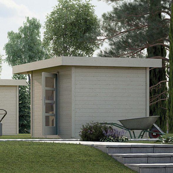 Designhaus 172 Gartenhaus Von Weka