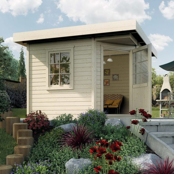 Weka Designhaus 213 Gartenhaus
