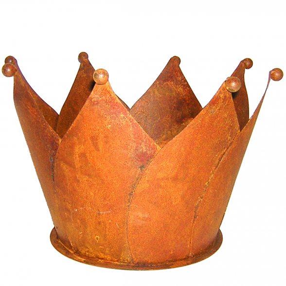 Deko krone rostoptik f r den garten kaufen for Deko rostoptik