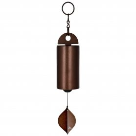 Klang- u. Windspiel von Woodstock | Artist`s Garden | Heroic Windbell - Antique Copper | L/D: 62/10cm