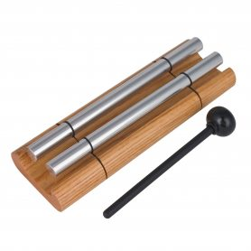 Woodstock Chimes Klangspiel | Kollektion: Woodstock Chimes | Woodstock Zenergy Meditation Chime | 19,1cm Lang