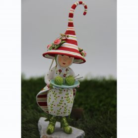 Krinkles Strick-Liese ''Mrs. Dash Away Santa´s Elf'' | Höhe 15,5 cm
