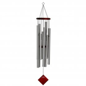 Woodstock Chimes Klangspiel | Encore | Chime of Eclipse - Silber | Länge: 101,5cm