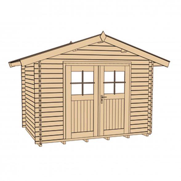 Weka Gartenhaus Premium45 Hier Preiswert Bestellen