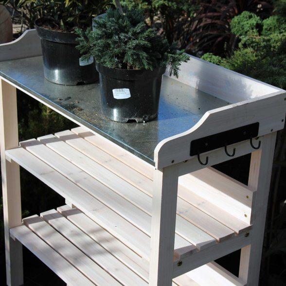 siena garden pflanztisch wei 76x37x89 cm. Black Bedroom Furniture Sets. Home Design Ideas