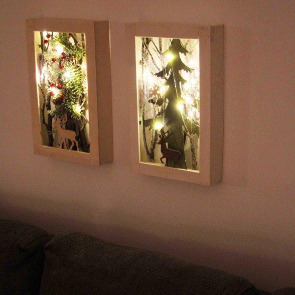 weihnachtlichtes wandbild jetzt online kaufen bei dalhoff. Black Bedroom Furniture Sets. Home Design Ideas